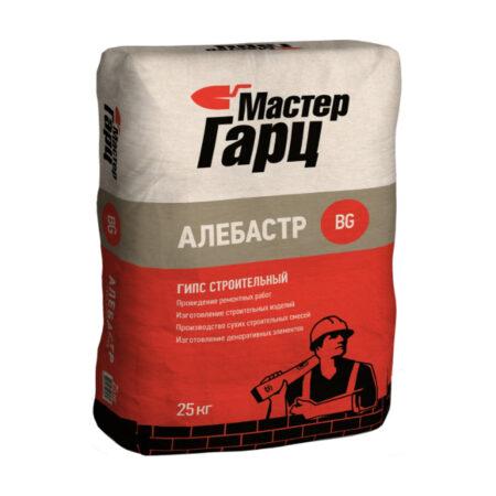 Гипс строительный Мастер Гарц Алебастр BG (25 кг)