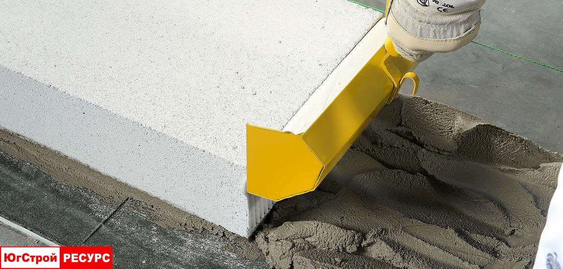 Полиуретановый клей для газобетонных блоков