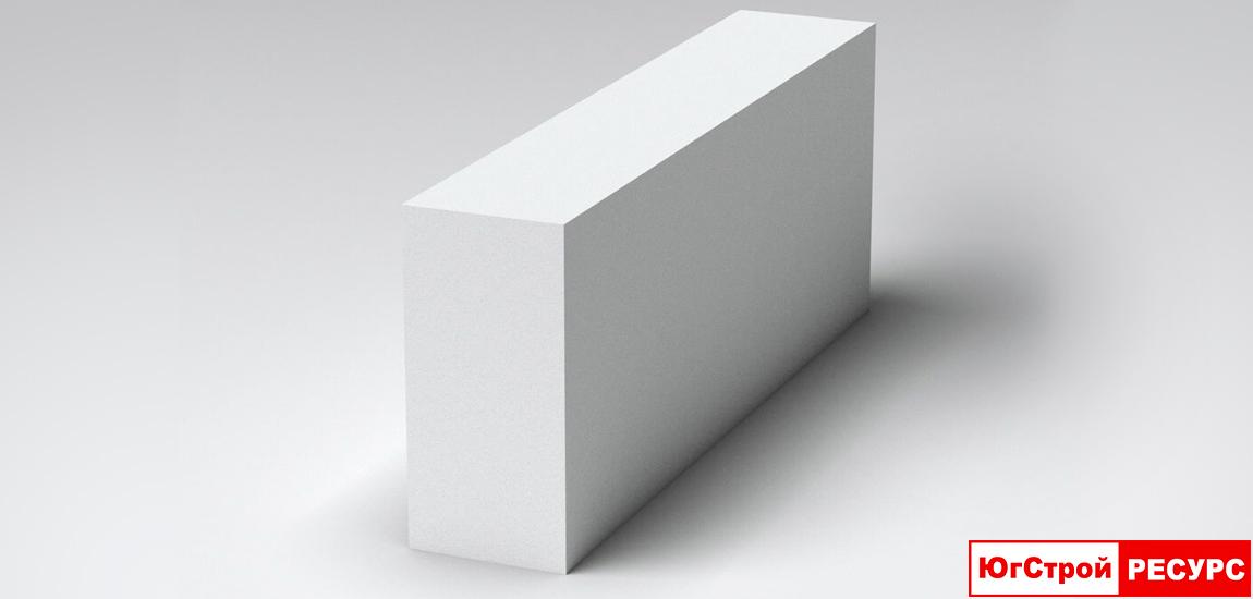 Газобетонный блок 625×100×250