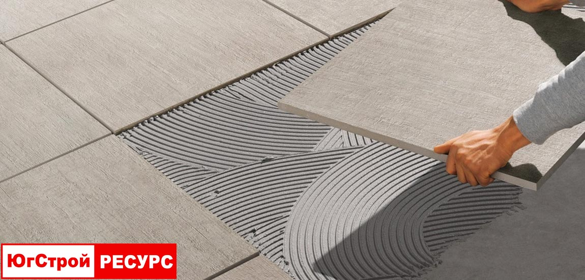Клей для керамогранитной плитки